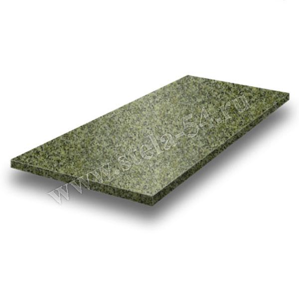 Плита надгробная - зеленая