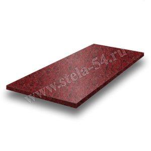 Надгробная плита - красная