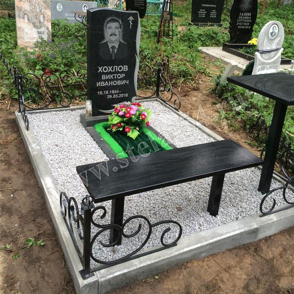 отсыпка могилы на кладбище
