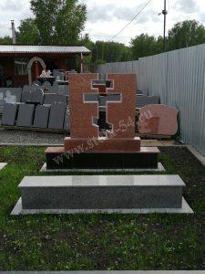 Крест из двух памятников Кордайский
