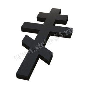 Крест накладной гранитный