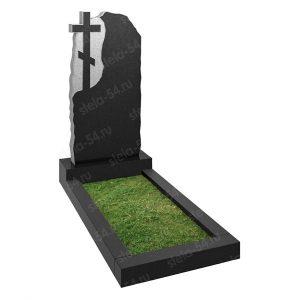 крест высечен в гранитном камне