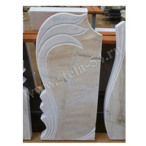 Памятник фигурный из саянского мрамора