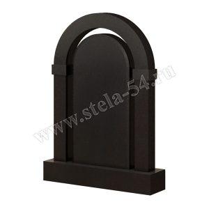 арка из карельского гранита черного цвета