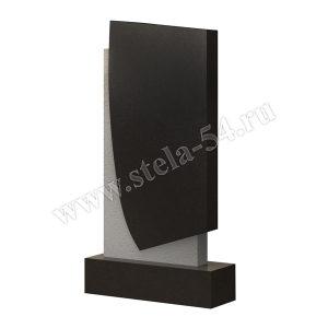 классический памятник черного цвета